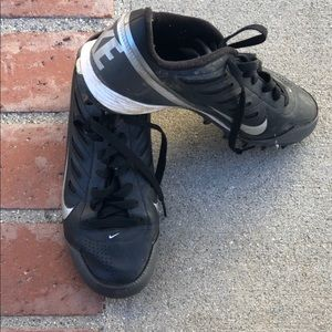 6Y Nike baseball cleats used 1 season